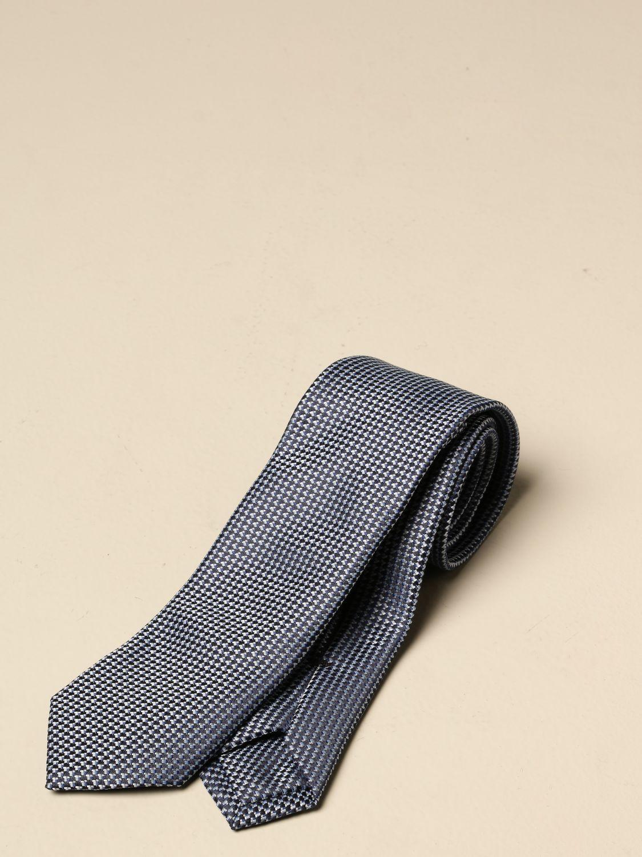 Corbata Boss: Corbata hombre Boss azul oscuro 1