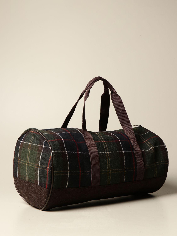 Travel bag Barbour: Bags men Barbour green 2