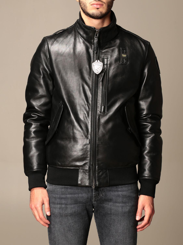 Veste Blauer: Manteau homme Blauer noir 1