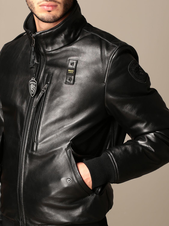 Veste Blauer: Manteau homme Blauer noir 4