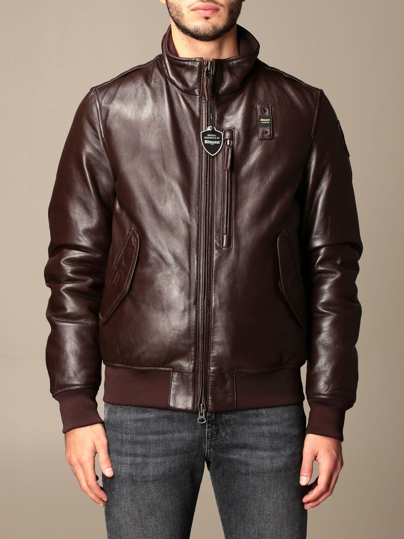 Jacket Blauer: Coat men Blauer brown 1