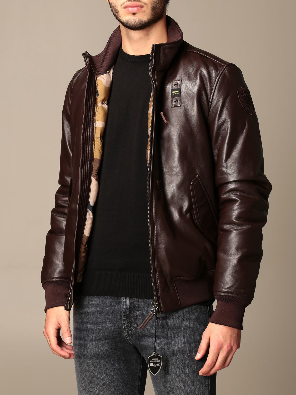 Jacket Blauer: Coat men Blauer brown 3