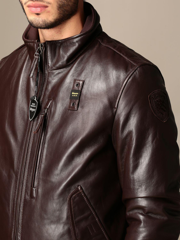 Jacket Blauer: Coat men Blauer brown 4