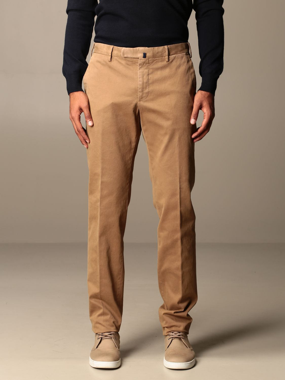 Trousers Incotex: Trousers men Incotex beige 1