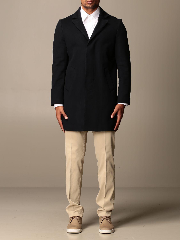 Coat Brian Dales: Coat men Brian Dales blue 1