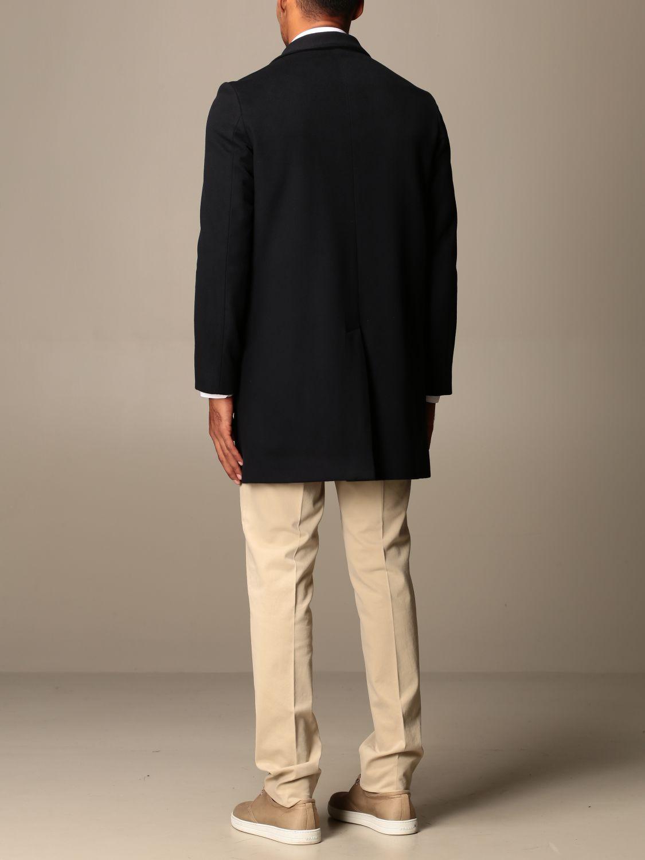 Coat Brian Dales: Coat men Brian Dales blue 2