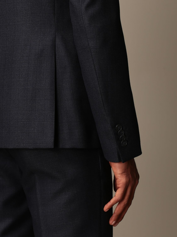 Costume Brian Dales: Costume homme Brian Dales bleu 5