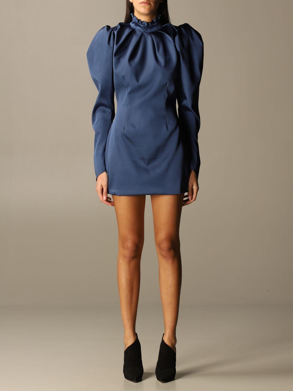 Kleid Nine Minutes: Kleid damen Nine Minutes blau 1