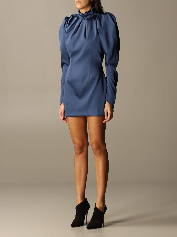 Kleid Nine Minutes: Kleid damen Nine Minutes blau 3