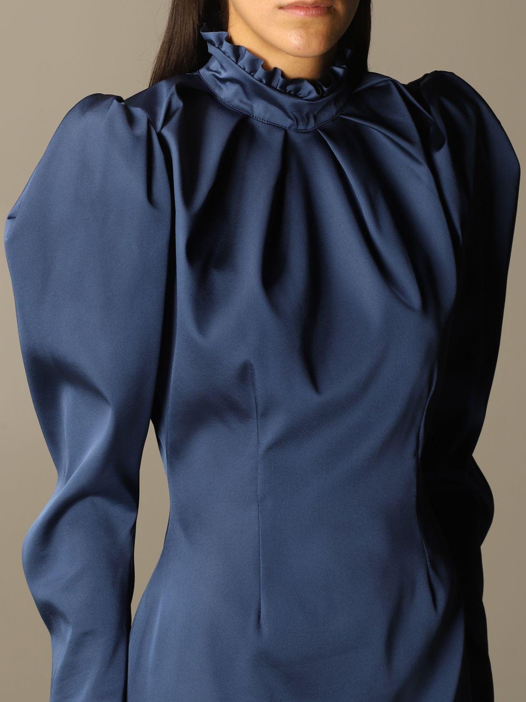 Kleid Nine Minutes: Kleid damen Nine Minutes blau 4