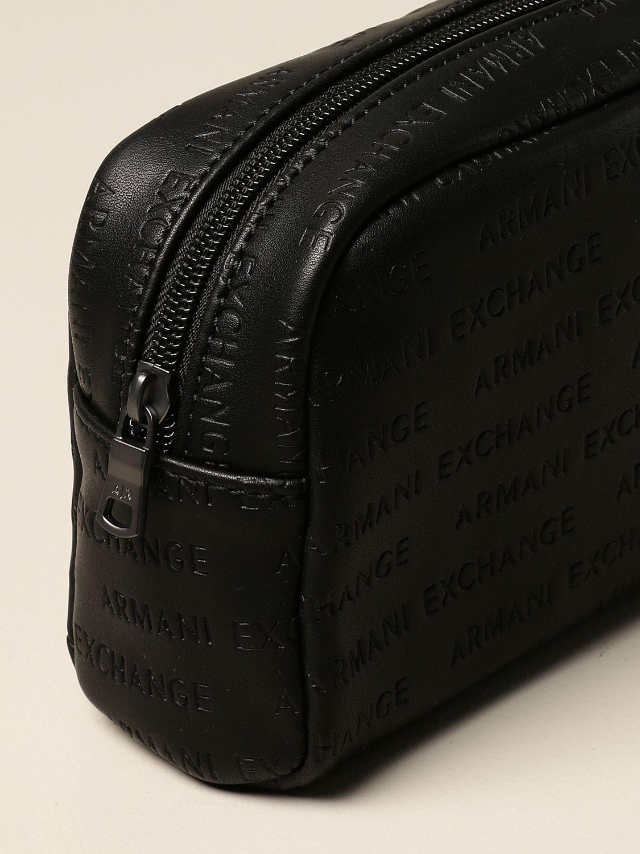 Кошелёк Armani Exchange: Кошелёк Мужское Armani Exchange черный 3