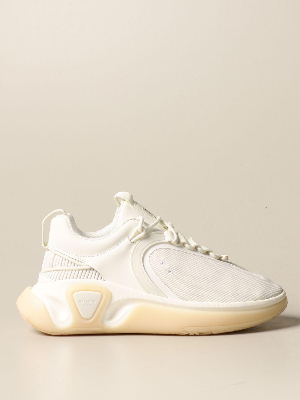 Sneakers Balmain: Sneakers uomo Balmain bianco 1
