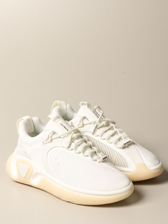 Sneakers Balmain: Sneakers uomo Balmain bianco 2