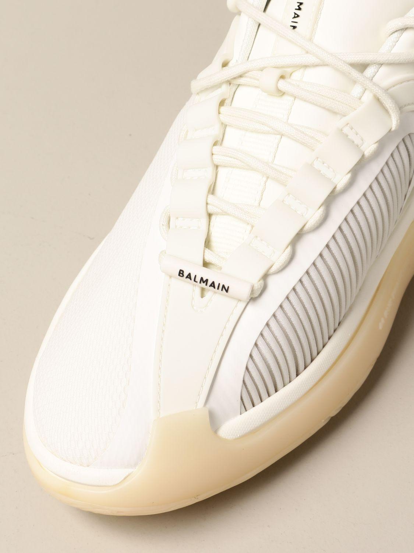 Sneakers Balmain: Sneakers uomo Balmain bianco 4