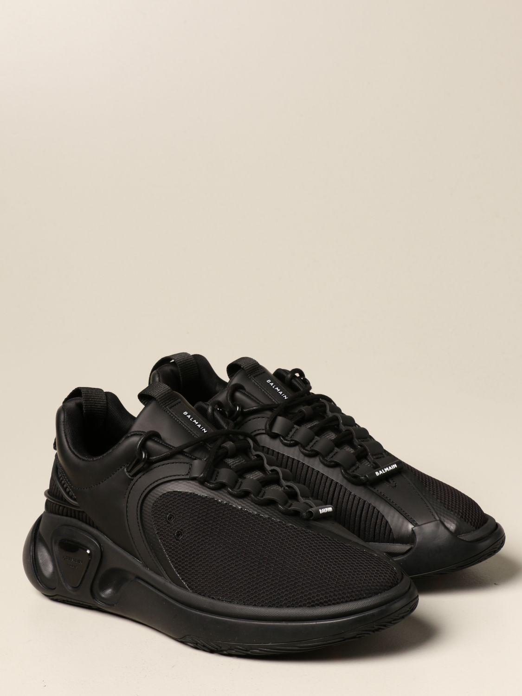 Sneakers Balmain: Sneakers uomo Balmain nero 2