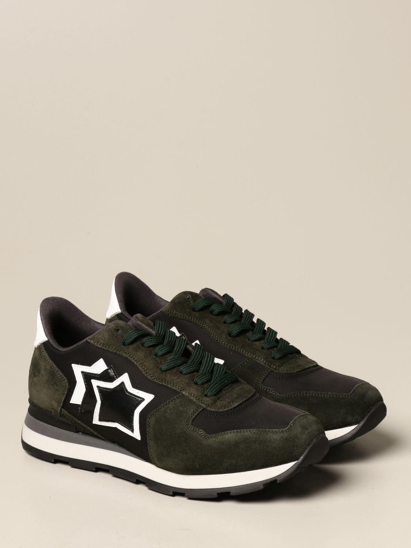 Sneakers Atlantic Stars: Sneakers men Atlantic Stars green 2