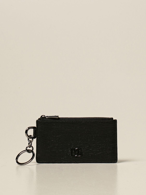 Кошелёк Dolce & Gabbana: Кошелёк Мужское Dolce & Gabbana черный 1