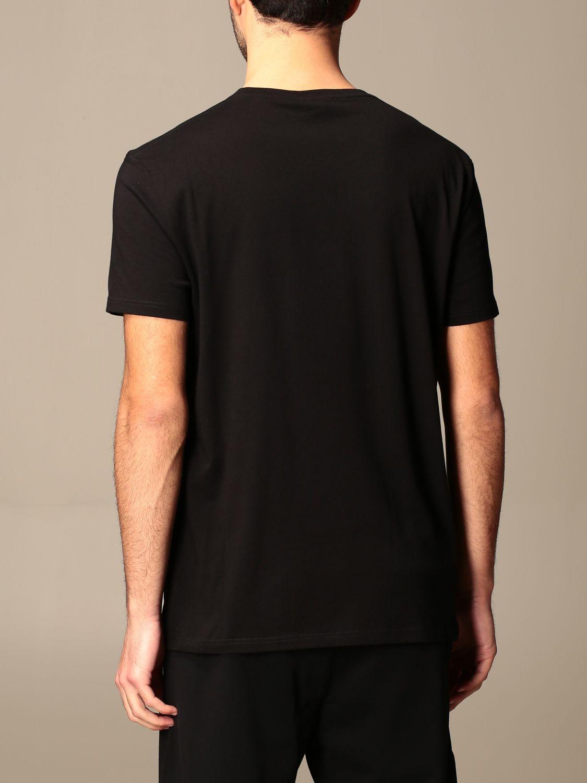 T-shirt Alexander Mcqueen: T-shirt Alexander McQueen in cotone con teschio nero 3