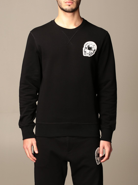 Sweatshirt Alexander Mcqueen: Sweatshirt homme Alexander Mcqueen noir 1