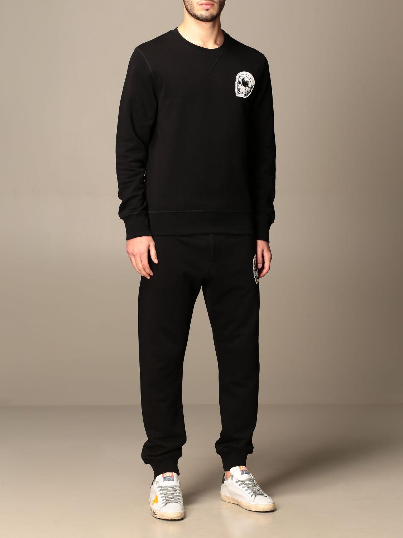 Sweatshirt Alexander Mcqueen: Sweatshirt homme Alexander Mcqueen noir 2