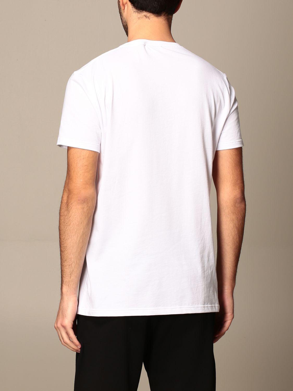 T-shirt Alexander Mcqueen: Alexander Mcqueen cotton t-shirt with skull white 3
