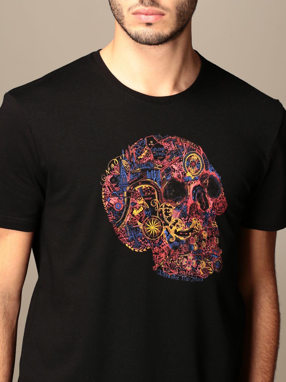 T-shirt Alexander Mcqueen: T-shirt men Alexander Mcqueen black 5