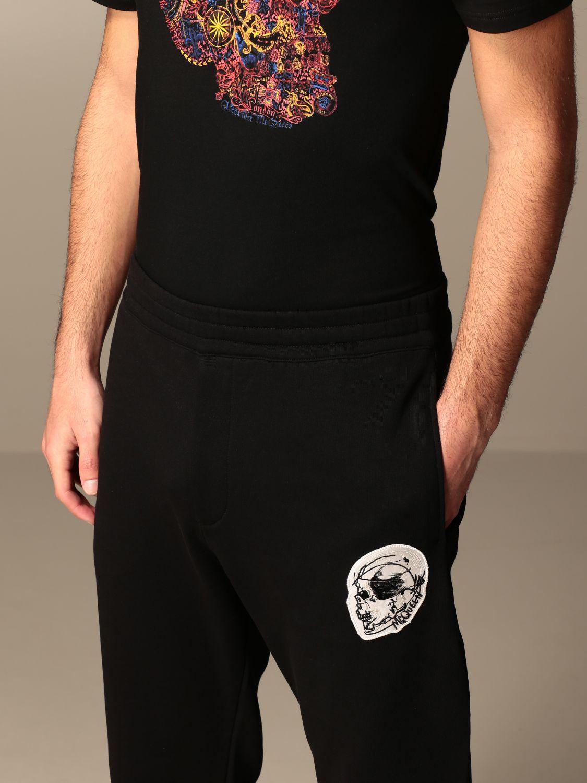 Trousers Alexander Mcqueen: Trousers men Alexander Mcqueen black 5