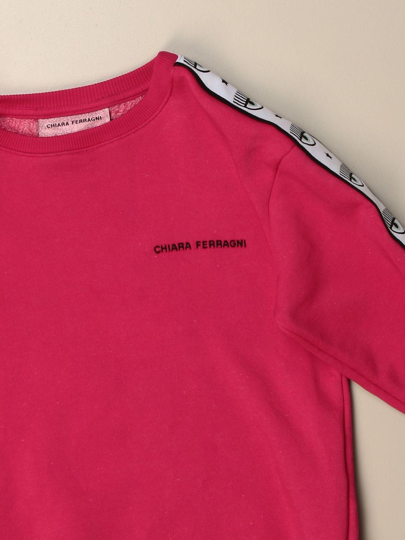 Jersey Chiara Ferragni: Jersey niños Chiara Ferragni fucsia 3