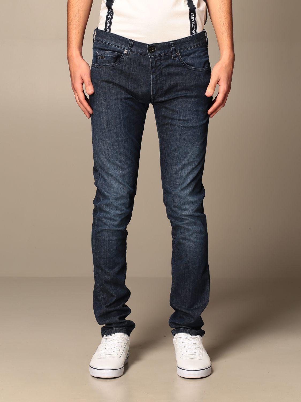 Pantalon Hombre Emporio Armani Jeans Emporio Armani Hombre Azul Claro Jeans Emporio Armani 6h1j10 1d5pz Giglio Es