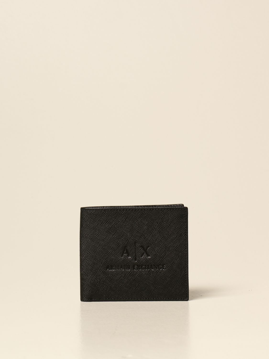 Wallet Armani Exchange: Wallet men Armani Exchange black 1