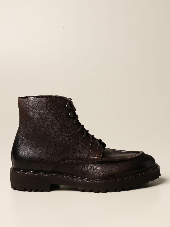 Ботинки челси Doucal's: Обувь Мужское Doucal's темный 1