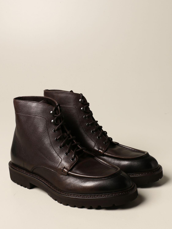 Ботинки челси Doucal's: Обувь Мужское Doucal's темный 2