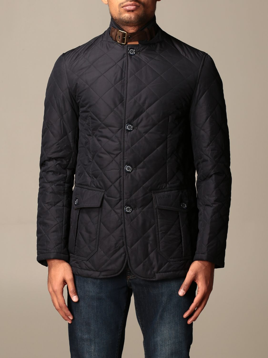 Jacket Barbour: Classic Barbour diamond quilted jacket blue 1