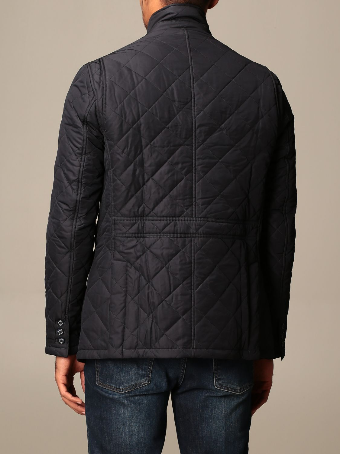 Jacket Barbour: Classic Barbour diamond quilted jacket blue 2