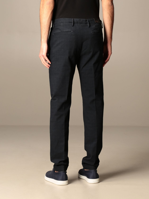 Pantalone Briglia: Pantalone classic Briglia check blue 2
