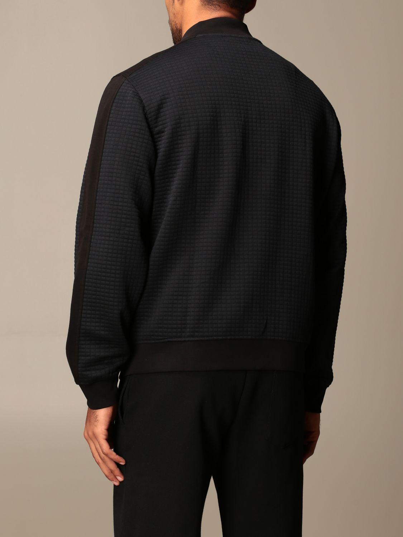 Sweatshirt Armani Exchange: Armani Exchange zip bomber jacket black 3