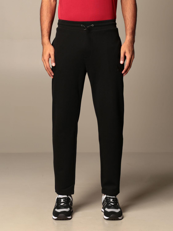 Pantalone Armani Exchange: Pantalone jogging Armani Exchange con logo nero 1