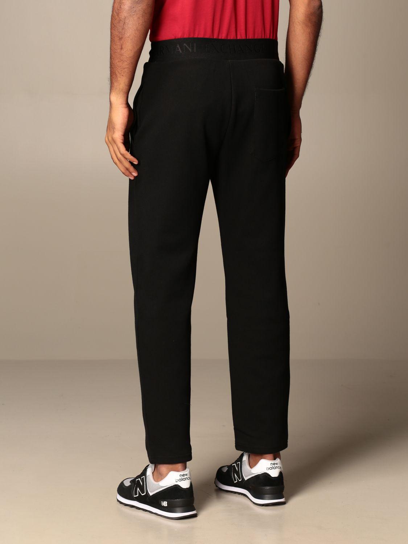 Pantalone Armani Exchange: Pantalone jogging Armani Exchange con logo nero 3