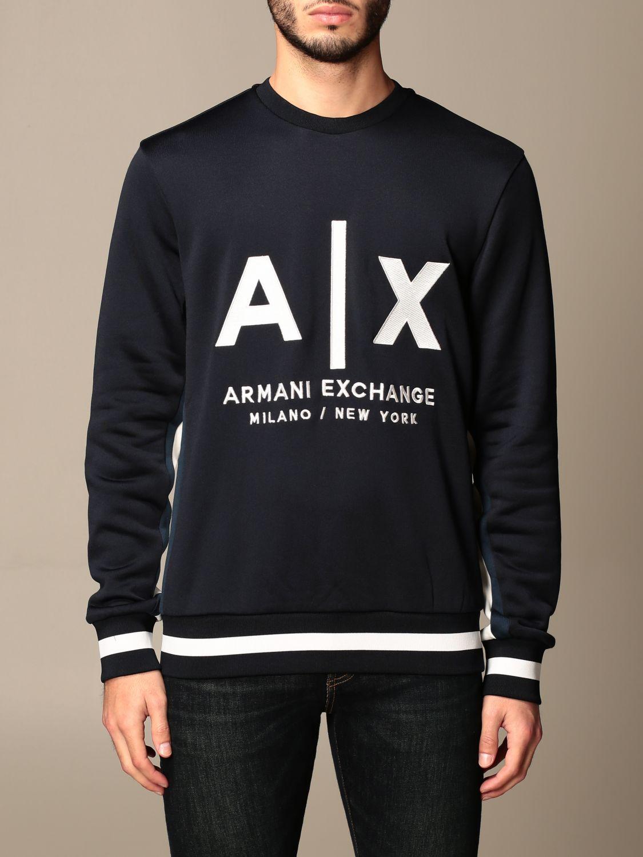 Sweatshirt Armani Exchange: Sweatshirt men Armani Exchange blue 1