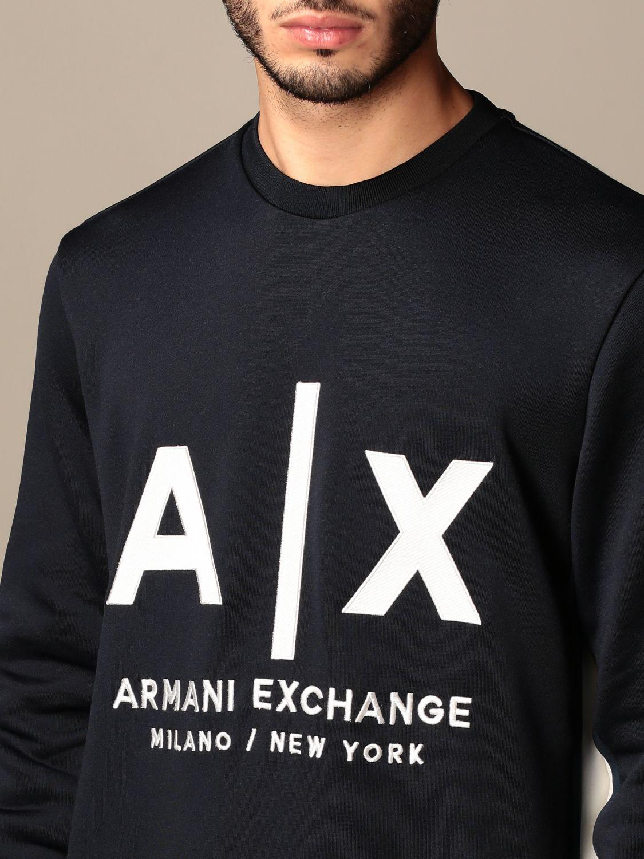 Sweatshirt Armani Exchange: Sweatshirt men Armani Exchange blue 4