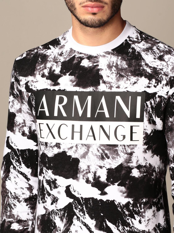 Sweatshirt Armani Exchange: Sweatshirt men Armani Exchange black 4