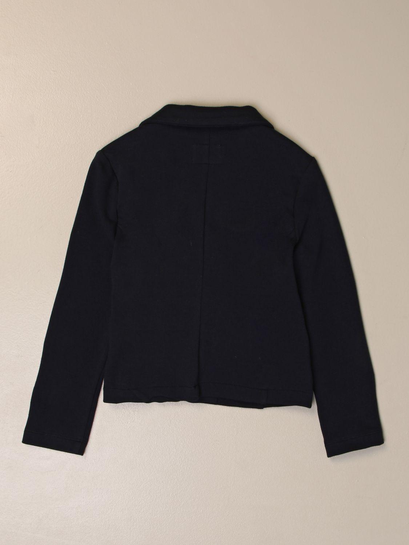 Blazer Il Gufo: Il Gufo blazer with bow blue 2