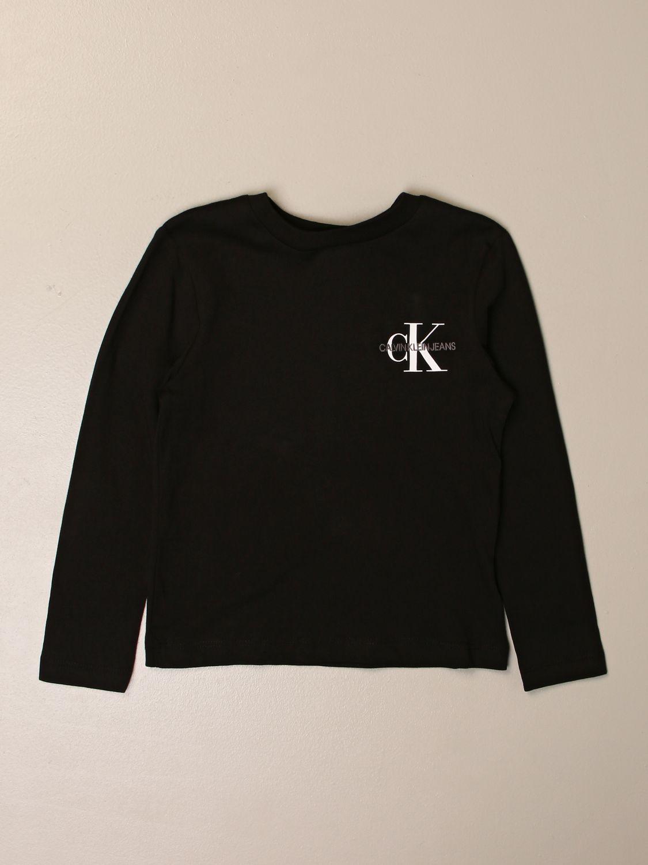 Camiseta Calvin Klein: Camiseta niños Calvin Klein negro 1