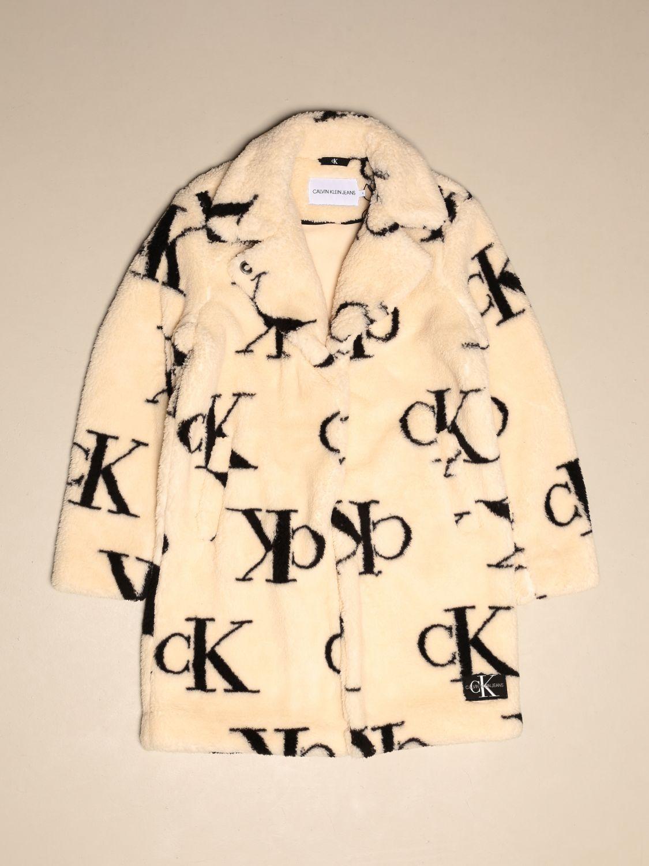 Chaqueta Calvin Klein: Chaqueta niños Calvin Klein blanco 1