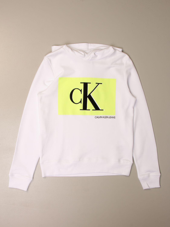 Jumper Calvin Klein: Jumper kids Calvin Klein white 1