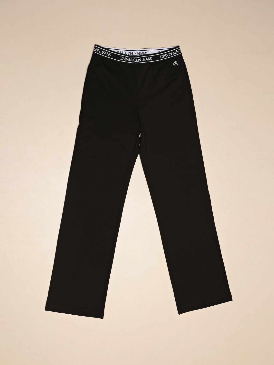 Trousers Calvin Klein: Trousers kids Calvin Klein black 1