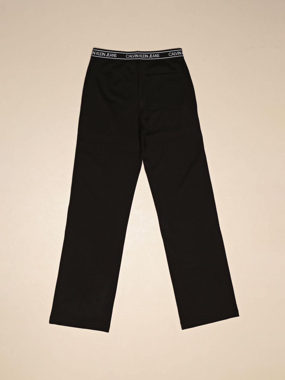 Pants Calvin Klein: Calvin Klein trousers in stretch technical fabric black 2