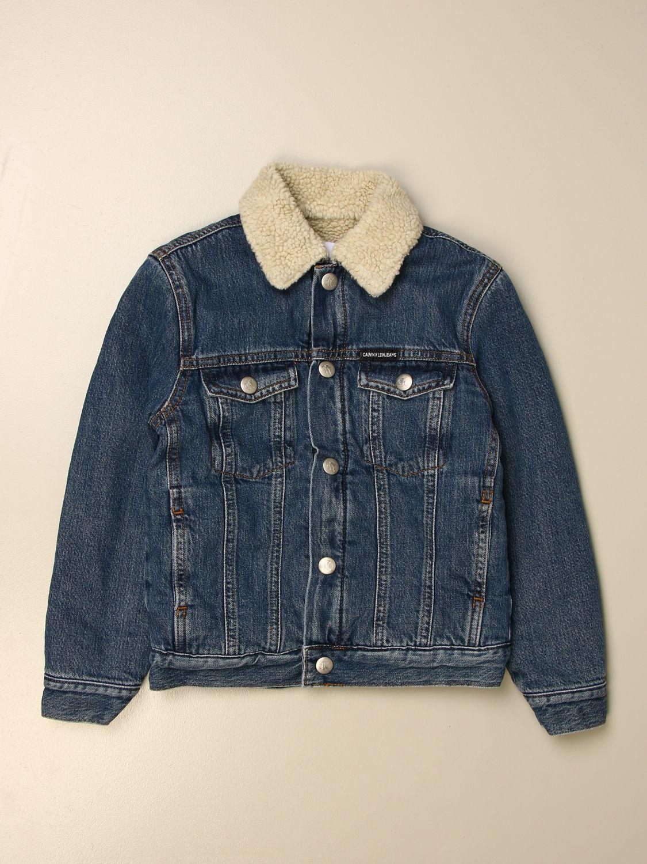 Jacket Calvin Klein: Jacket kids Calvin Klein denim 1
