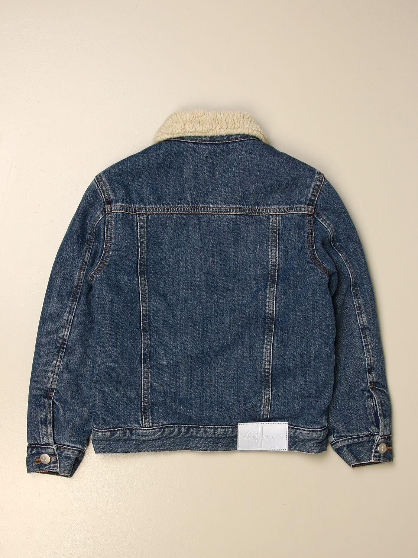 Jacket Calvin Klein: Jacket kids Calvin Klein denim 2