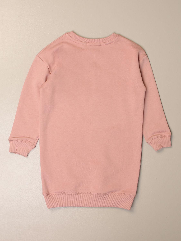 Vestido Calvin Klein: Vestido niños Calvin Klein rosa 2